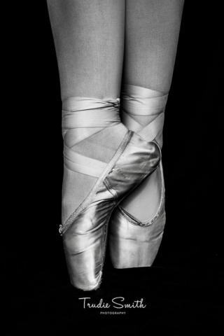 Ballerina Feet by Trudie Smith