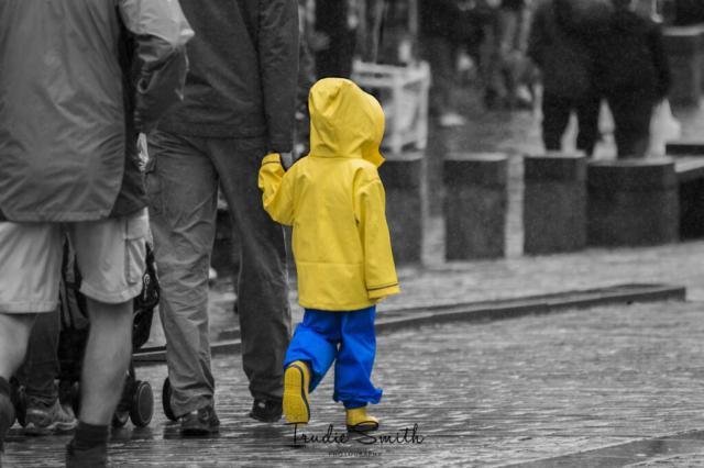 Rainy day in Keswick  by Trudy Smith