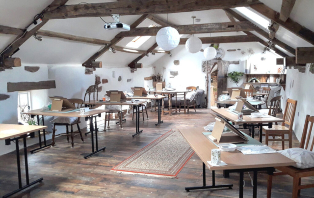 Quirky Workshops new studio 'Swallow Barn'