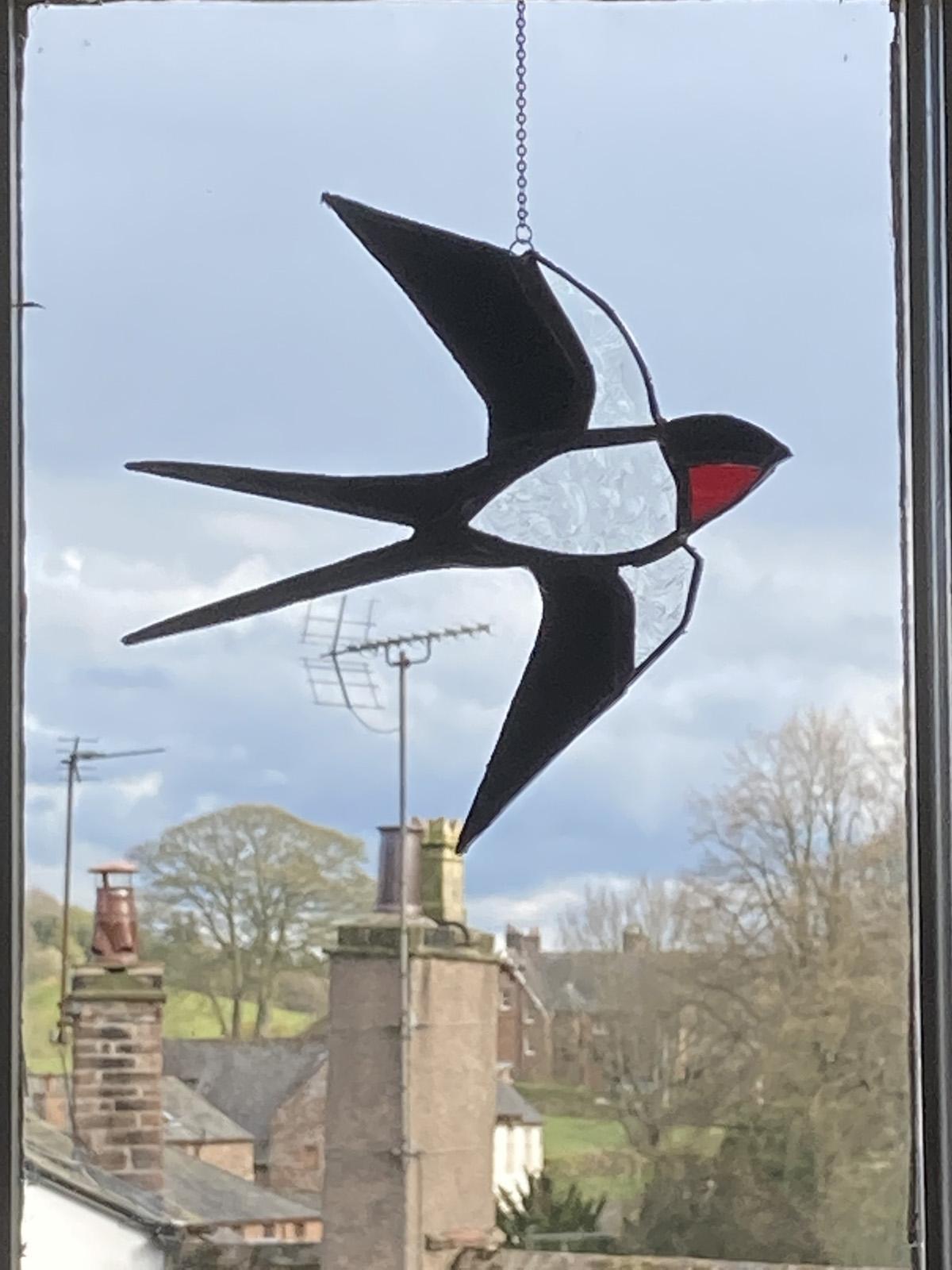 Oswald Glass - swallow
