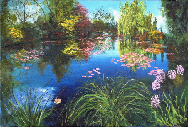 REFLECTIONS OF GIVERNY
